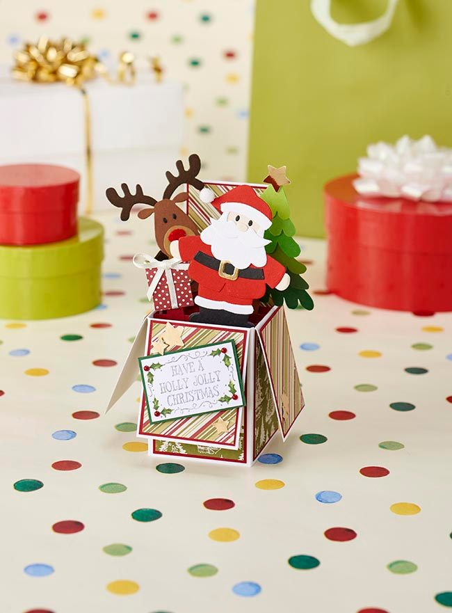 5. Christmas exploding box-card templates