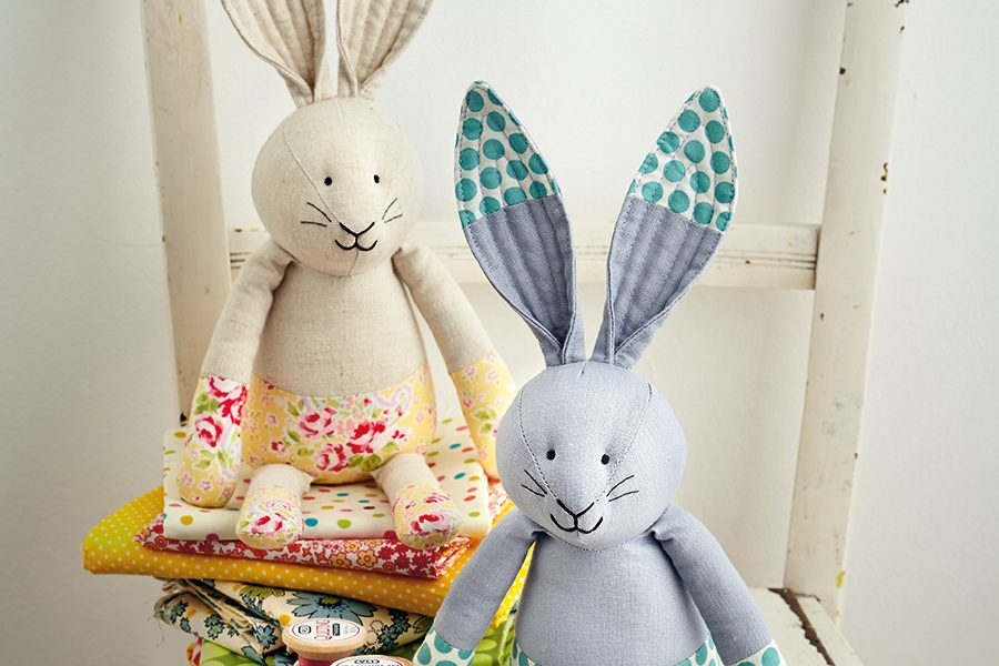 Rabbit sewing pattern – hop to it!