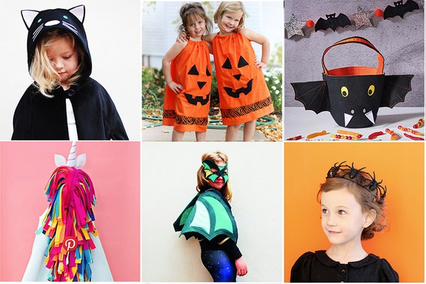 36 Diy Halloween Costumes That Are Easy To Make At Home Gathered