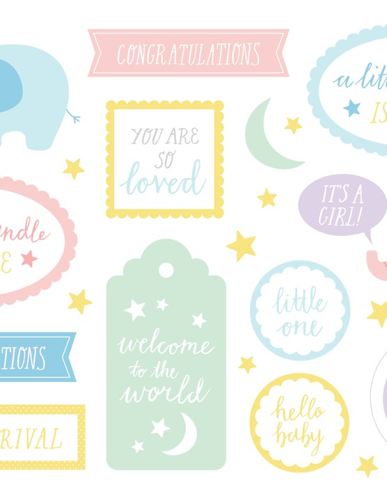New baby card ideas - Baby sentiments