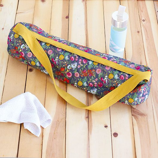 2. How to sew a yoga mat bag