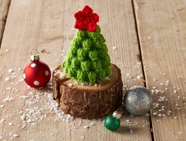 Free Mini Crochet Christmas Tree Pattern