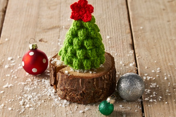 Free Crochet Christmas Tree Pattern Gathered