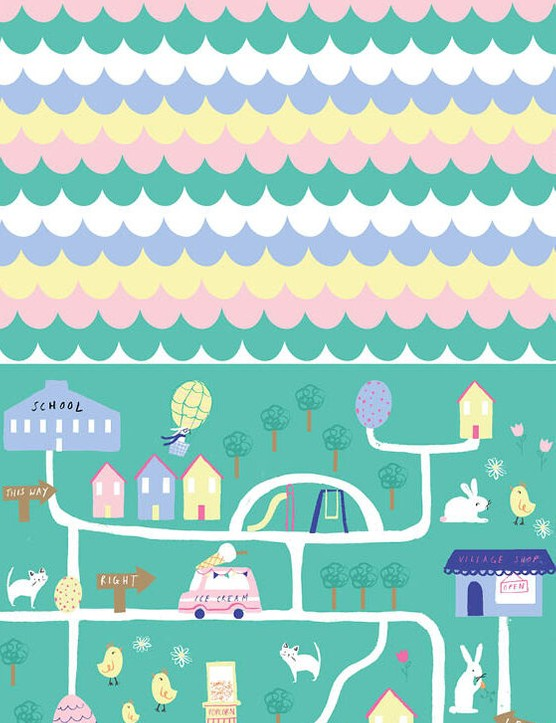Free cute Easter patterned papers 2