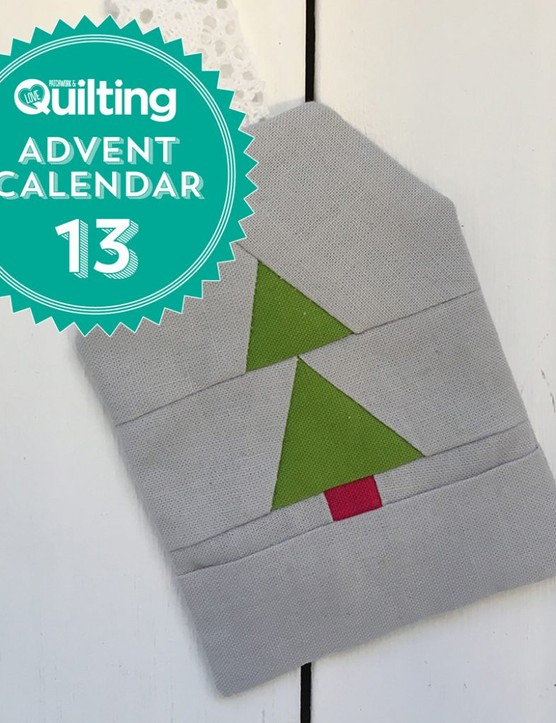 Free foundation paper piecing christmas tree pattern