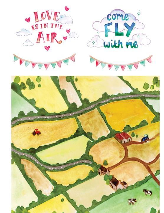 Free hot air balloon printables 3
