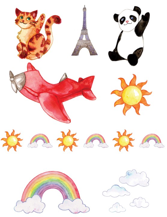 Free hot air balloon printables 5