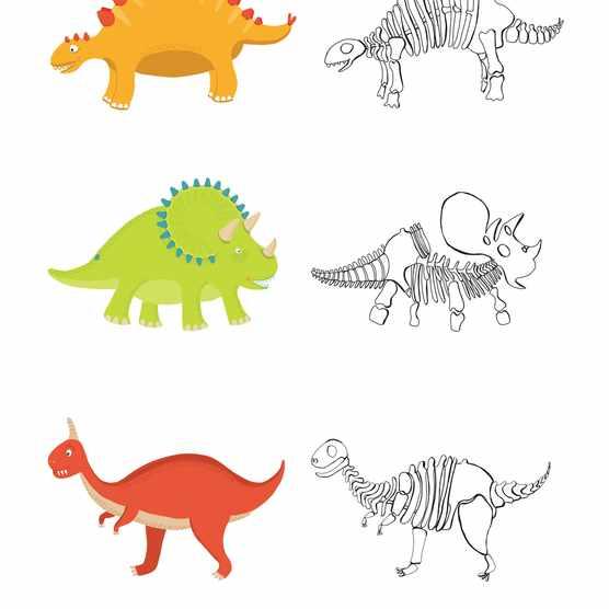 Free prehistoric dinosaur printables_02