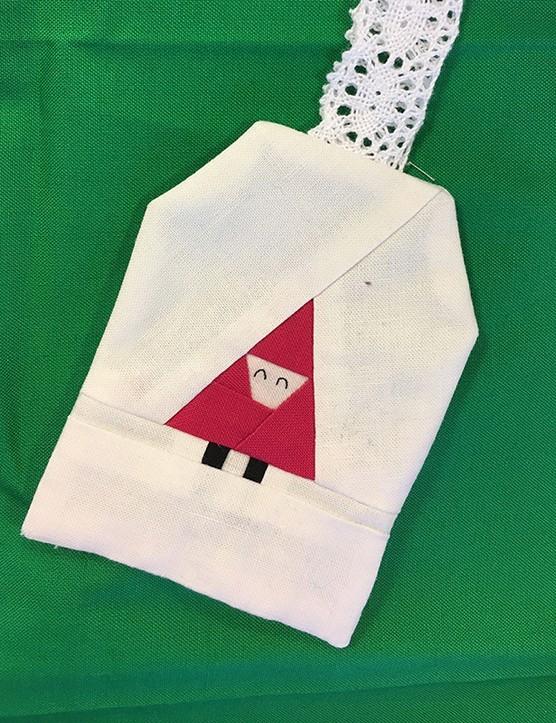 Free santa claus patchwork pattern