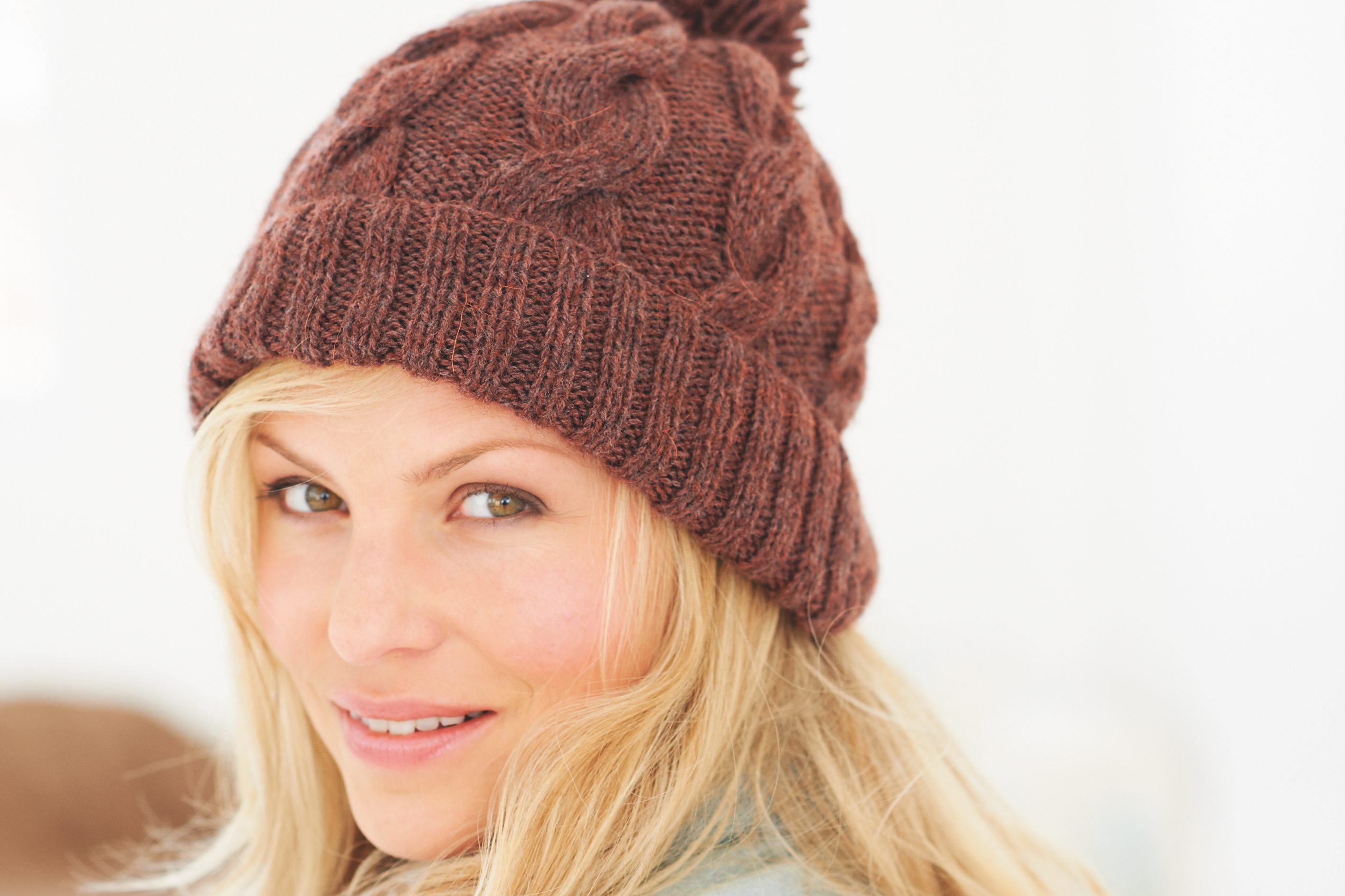 8. Free bobble hat knitting pattern