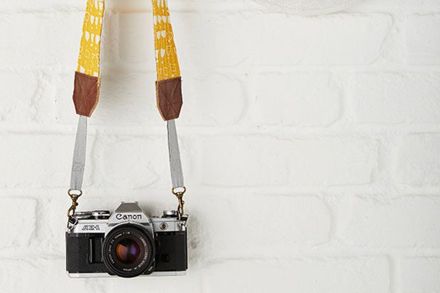 10. How to sew a camera strap