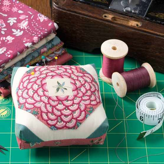 Patchwork pincushion tutorial