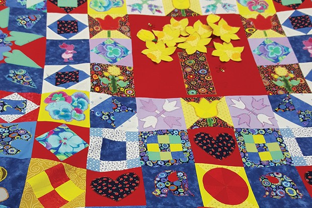 Silk Coverlet Reproduction Quilt Janet Teague