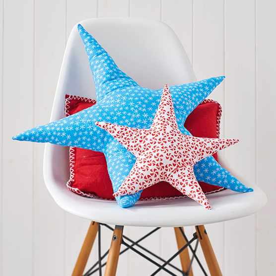 Star cushion sewing pattern
