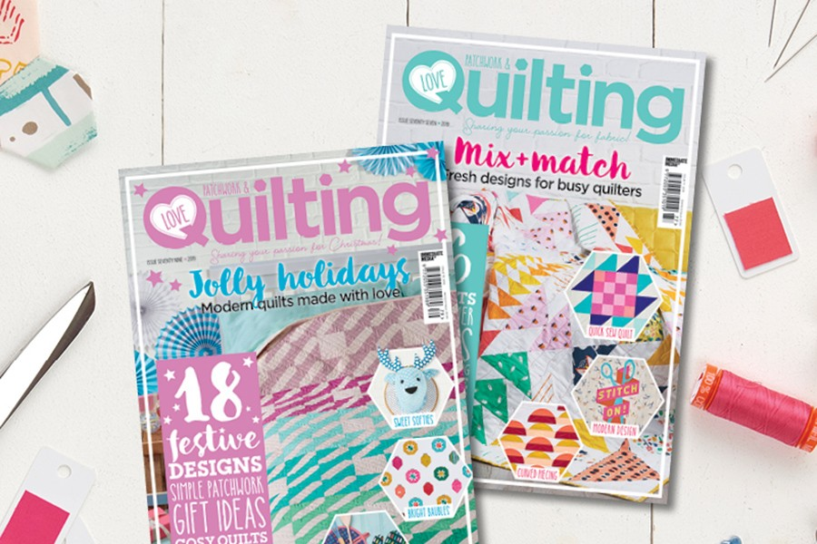 Subscribe to Love Patchwork and Quilting
