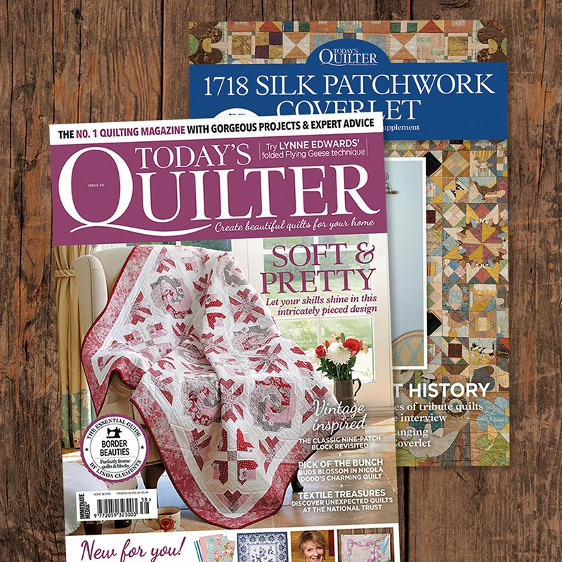 Todays Quilter Silk Coverlet Supplement