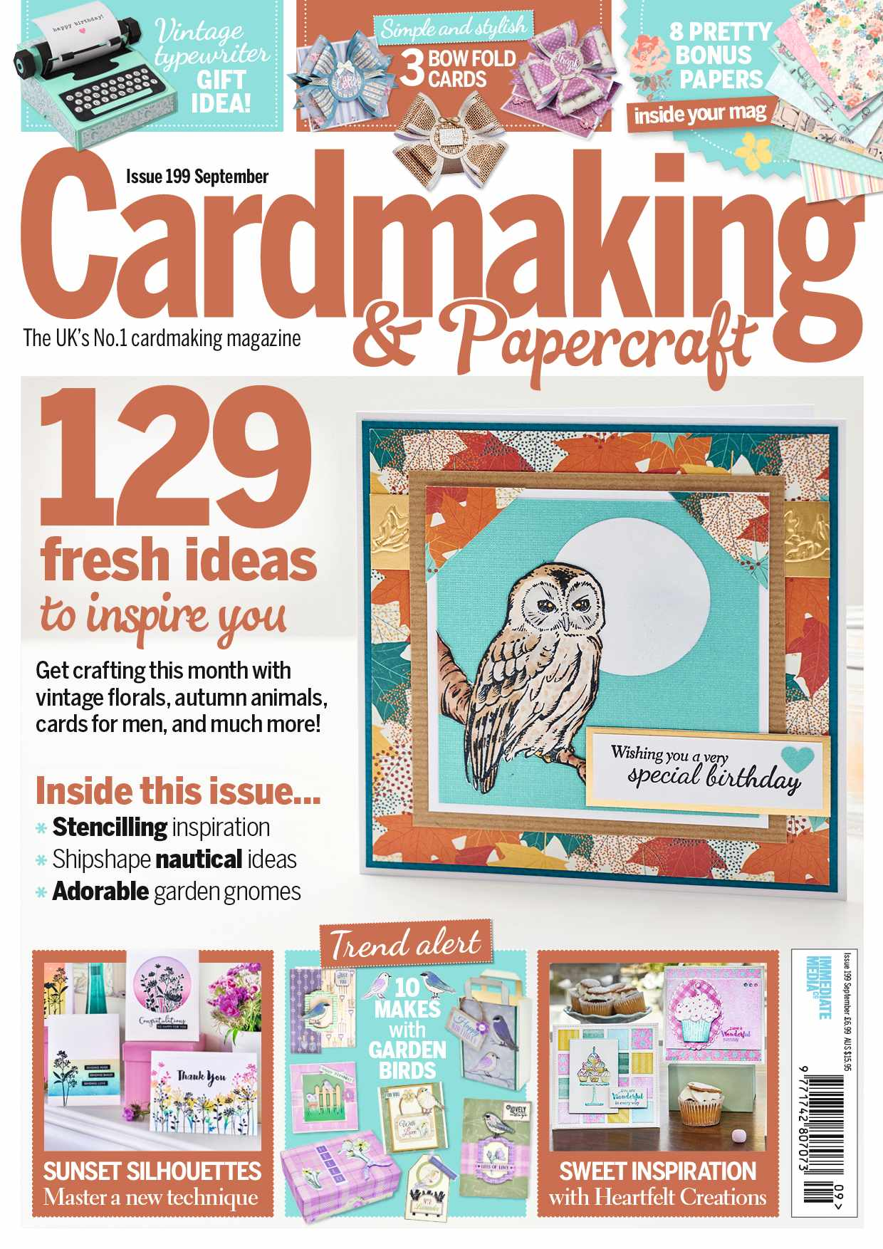 Cardmaking and Papercraft magazine issue 199