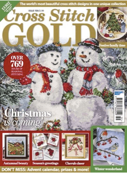 Cross Stitch Gold magazine issue 159
