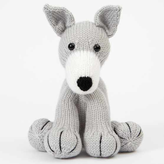 Free toy dog knitting pattern greyhound