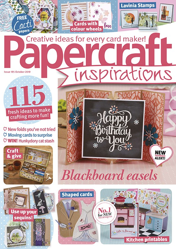 Papercraft inspirations magazine issue 195