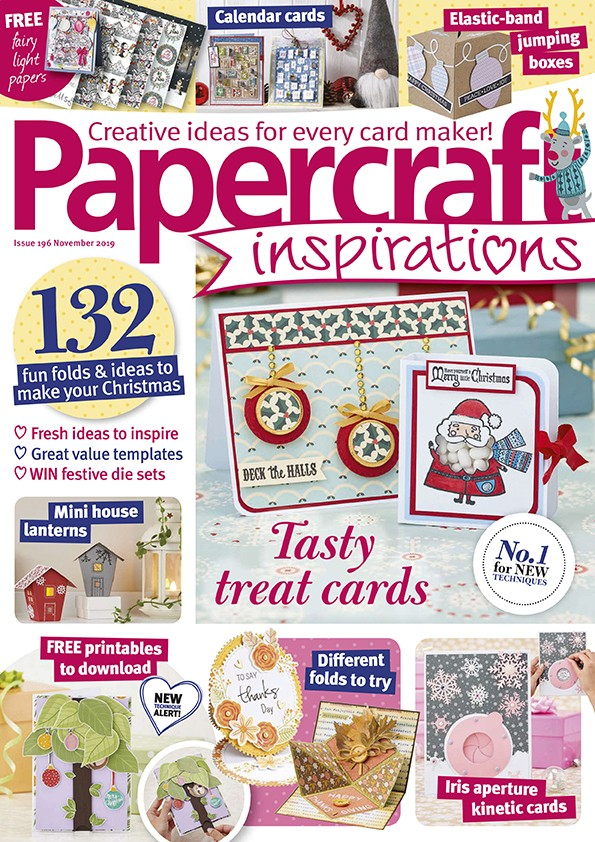Papercraft inspirations magazine issue 196