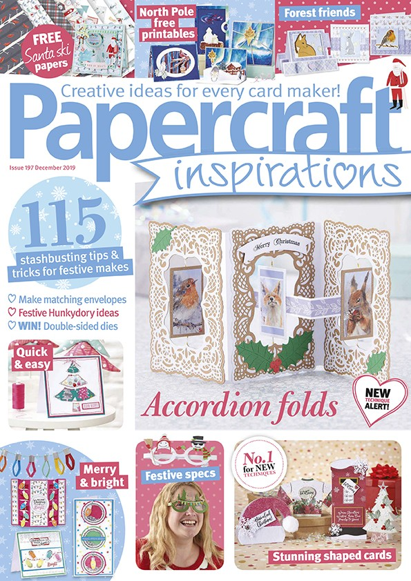Papercraft inspirations magazine issue 197