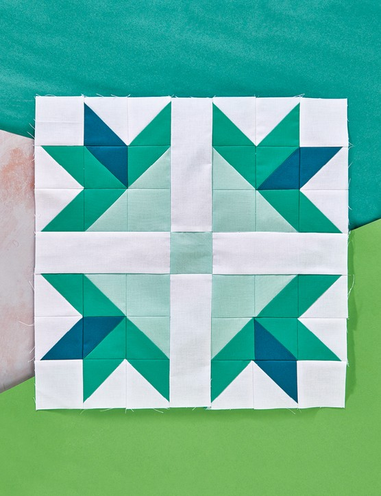 Paws and Pluses Quilt Block Patterns