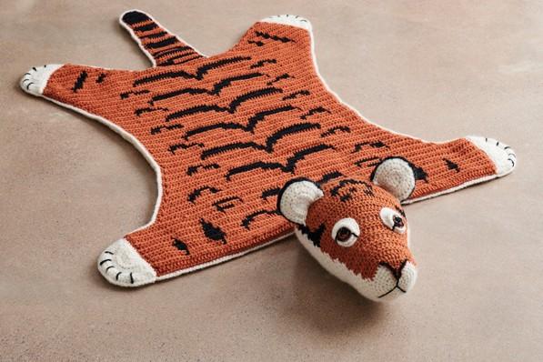 Free Amigurumi Crochet Pattern for Thomas the Tiger ⋆ Crochet Kingdom | 398x597