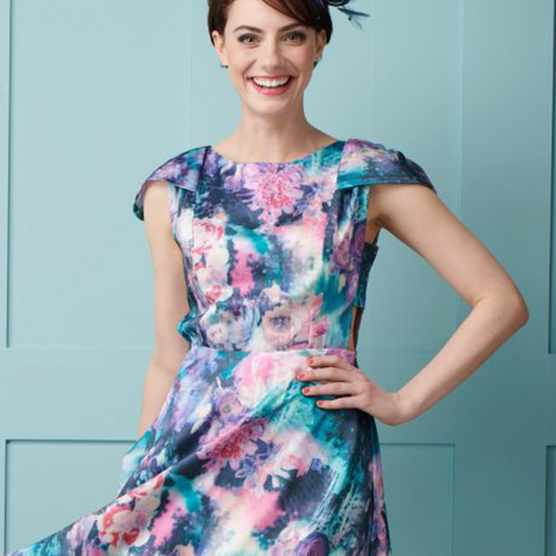 The Sophia Dress Bonus Side Pattern