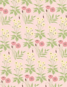 British wildflower patterned papers 03