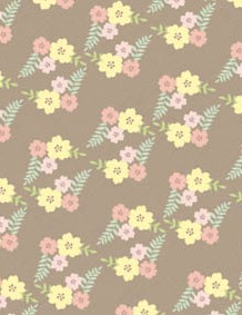 British wildflower patterned papers 04