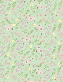 British wildflower patterned papers 07