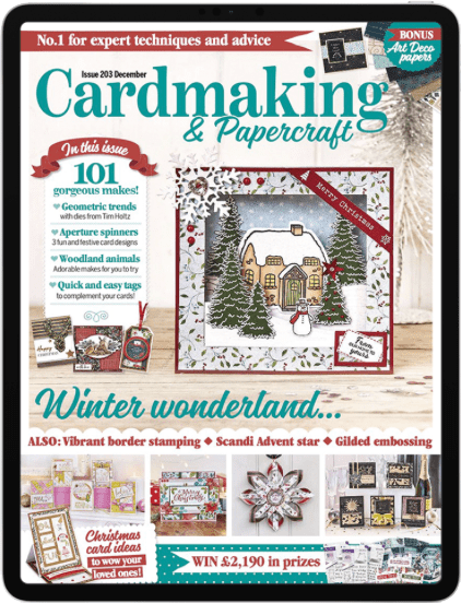Cardmaking and papercraft Digital Edition