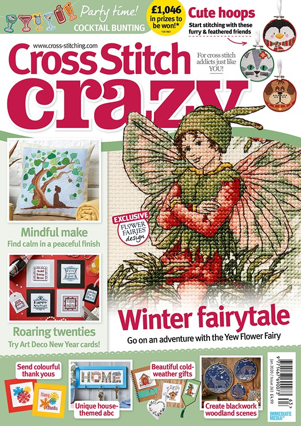 Cross Stitch Crazy issue 263