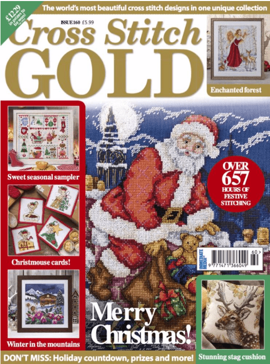 Cross Stitch Gold issue 160