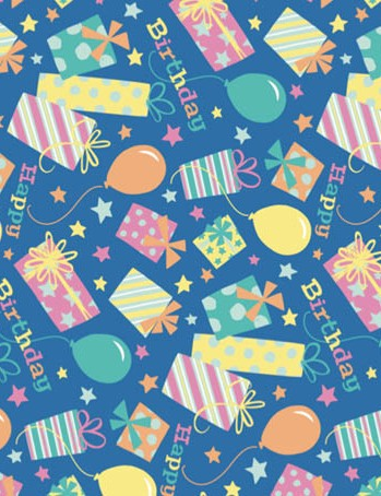 Free happy birthday brights patterned papers 01