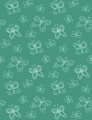 Free watering can floral patterned papers 02