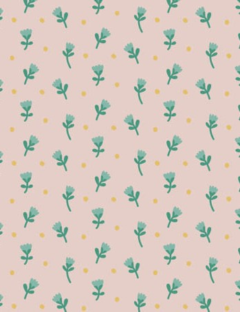 Free watering can floral patterned papers 03