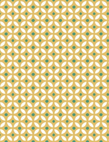 Free watering can floral patterned papers 07