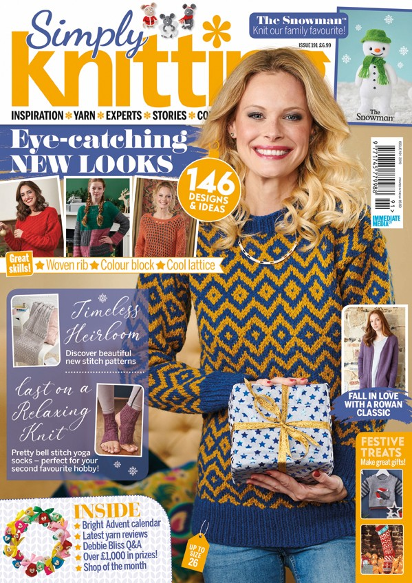 Simply Knitting 191 cover
