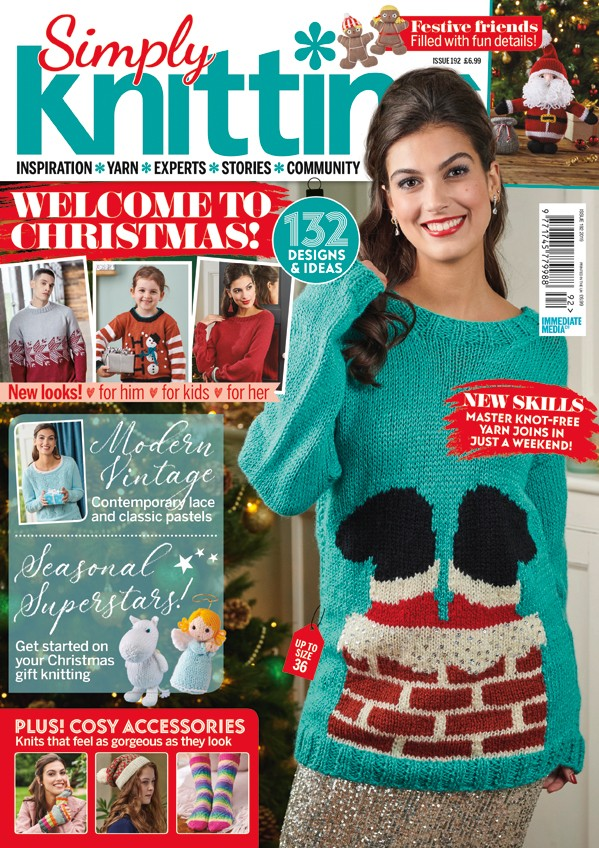 Simply Knitting 192 cover