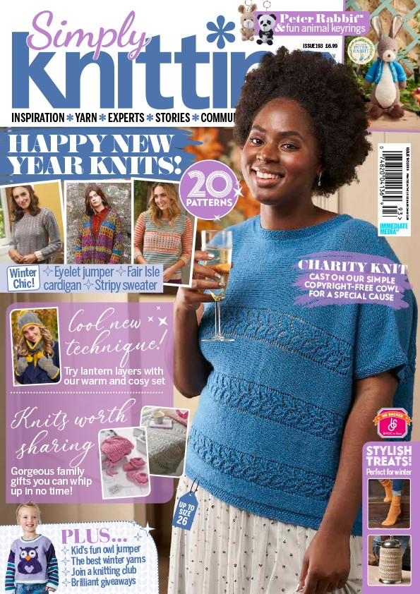 Simply Knitting magazine issue 193