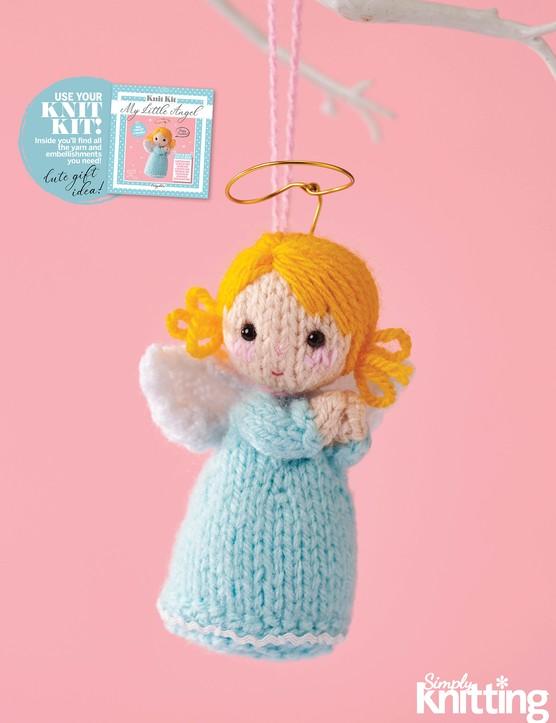 Simply Knitting 192 Angel knit kit