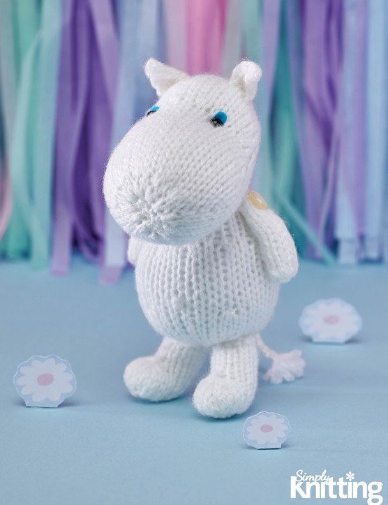 Simply Knitting 192 Moomin toy pattern