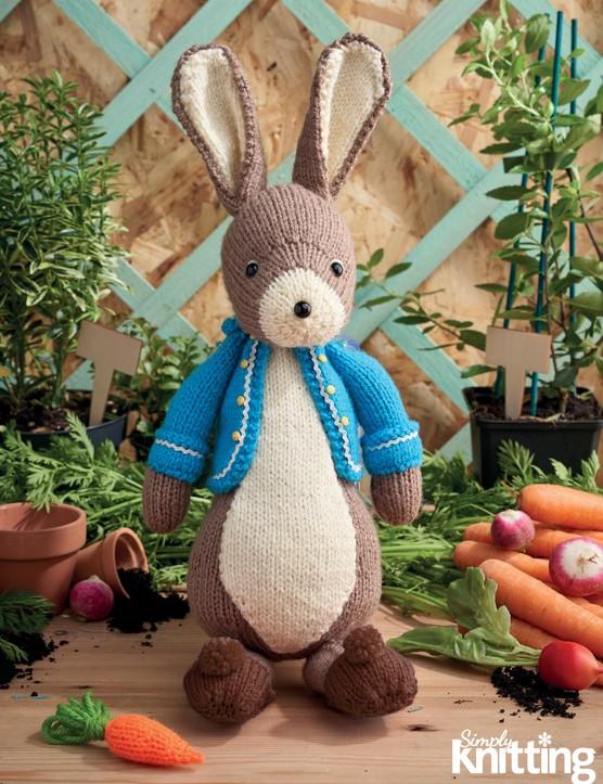 Simply Knitting 193 Peter Rabbit