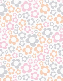 Spring pale pastel patterned papers 03