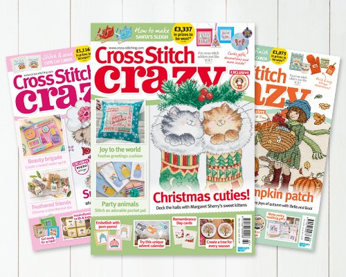 Subscribe to Cross Stitch Crazy