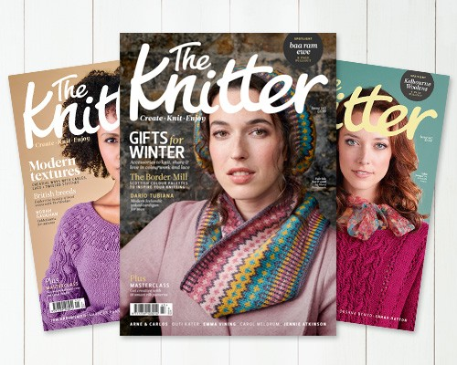 Subscribe to The Knitter magazine