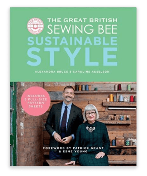 The Great British Sewing Bee book - sustainable style