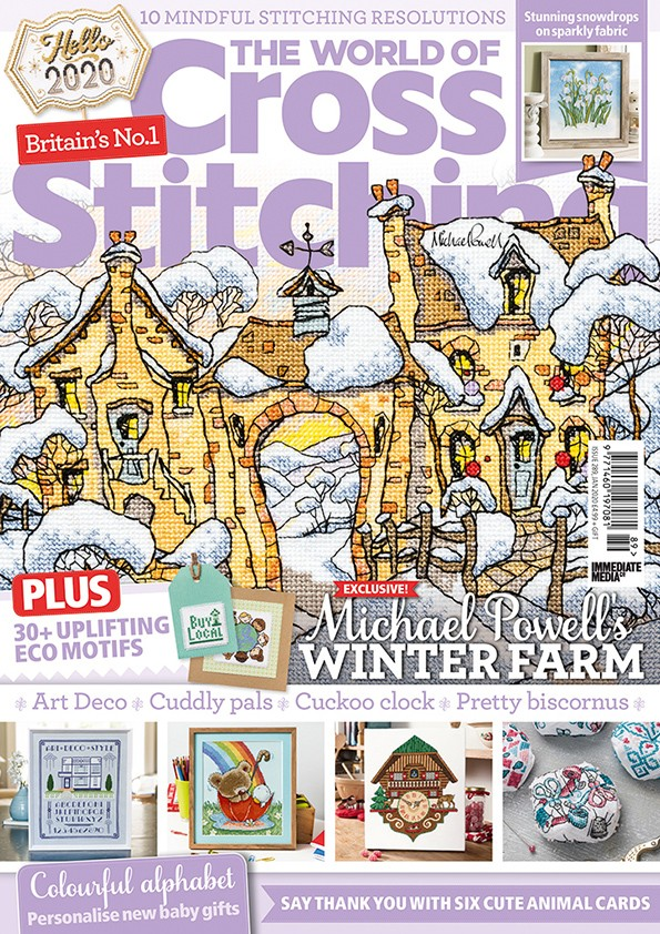The World of Cross Stitching magazine issue 289